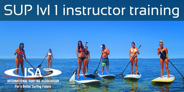 SUP Level 1 instructor training