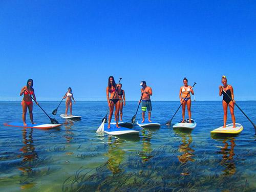 SUP girl Bali
